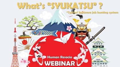 Syukatsu job hunting in Japan